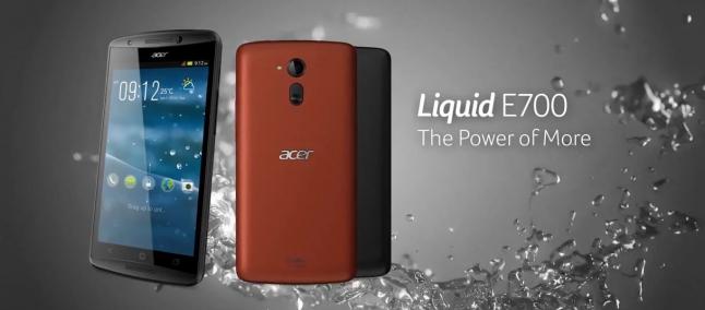 Acer Liquid E700: lo smartphone con tre SIM card.