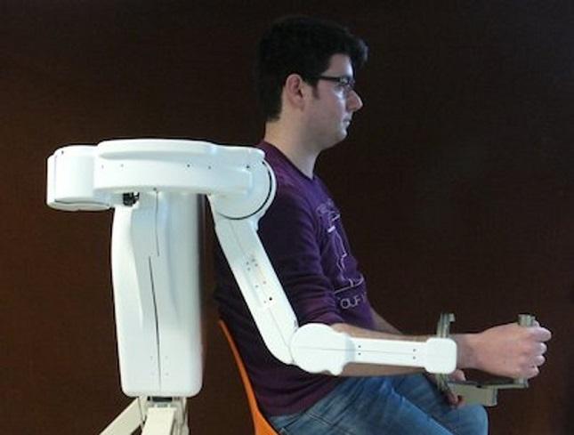 Il braccio robotico dell'Istituto Sant'Anna