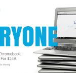 La campagna stampa del Samsung Chromebook