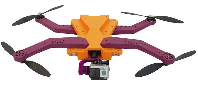 Il drone di ultima generazione può effettuare registrazioni anche senza alcun intervento da parte di un operatore umano.