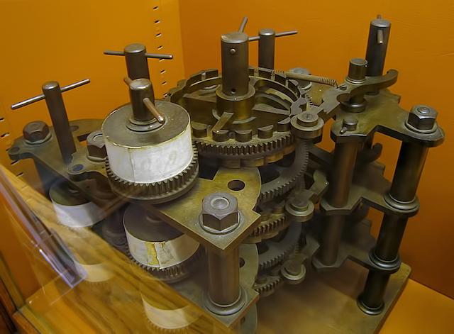 la macchina di Babbage (wikipedia)