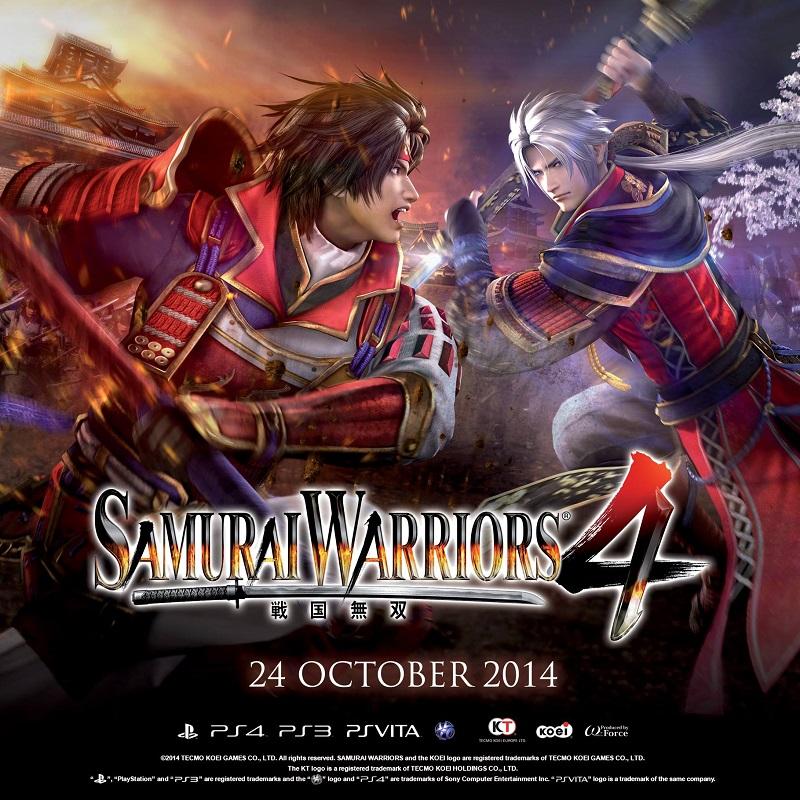 In arrivo Samurai Warriors 4