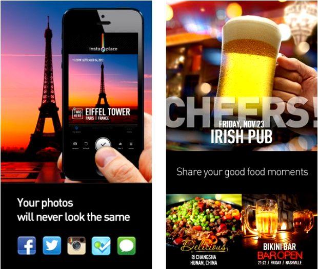 Instaplace è l'app per fare delle cartoline fai-da-te da condividere direttamente online