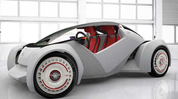 Strati: il primo prototipo di macchina stampata 3D