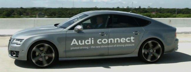 Audi A7 Traffic Jam Pilot