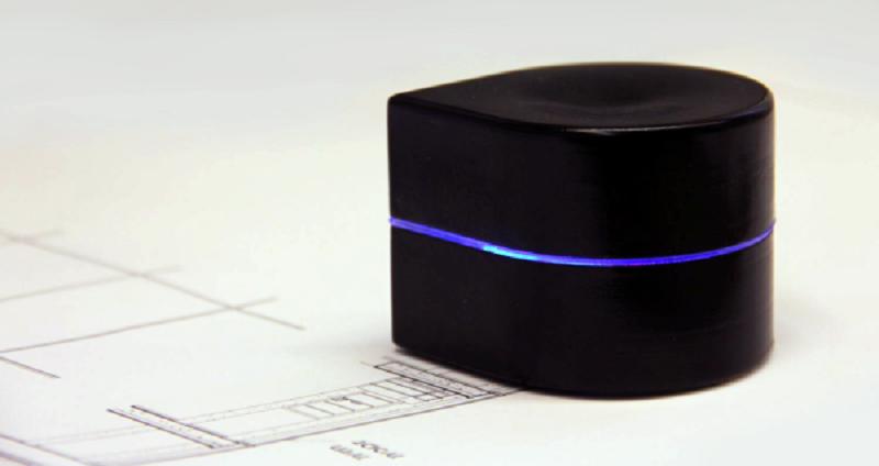 Il peso di Zuta, la stampante tascabile, è di soli 300 grammi.
