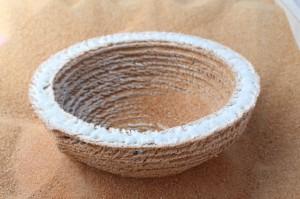 Un oggetto stampato da Markus Kayser usando la sabbia