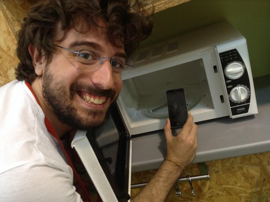 L'editor che sta per sacrificare il suo iPhone