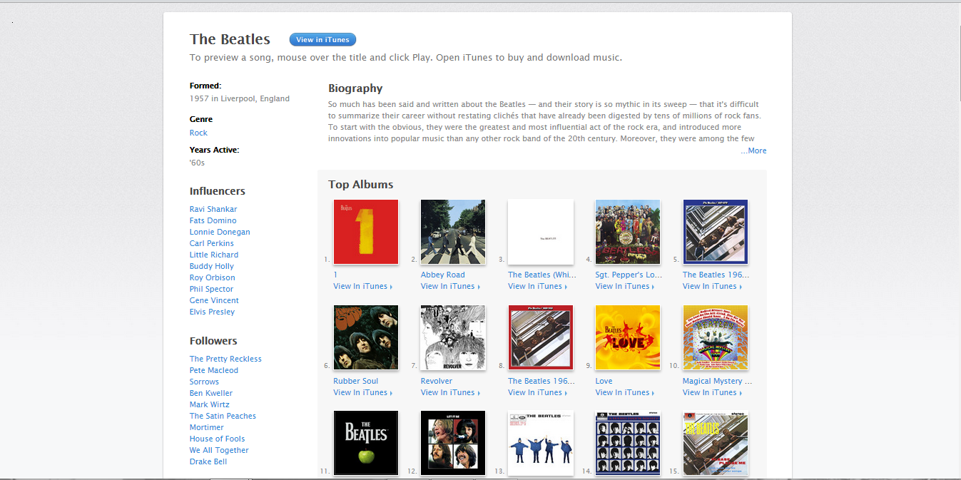 Vogliamo i Beatles su Spotify