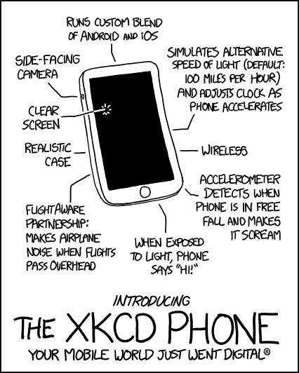 Il fumetto di Randall Munroe da cui è partito il grido