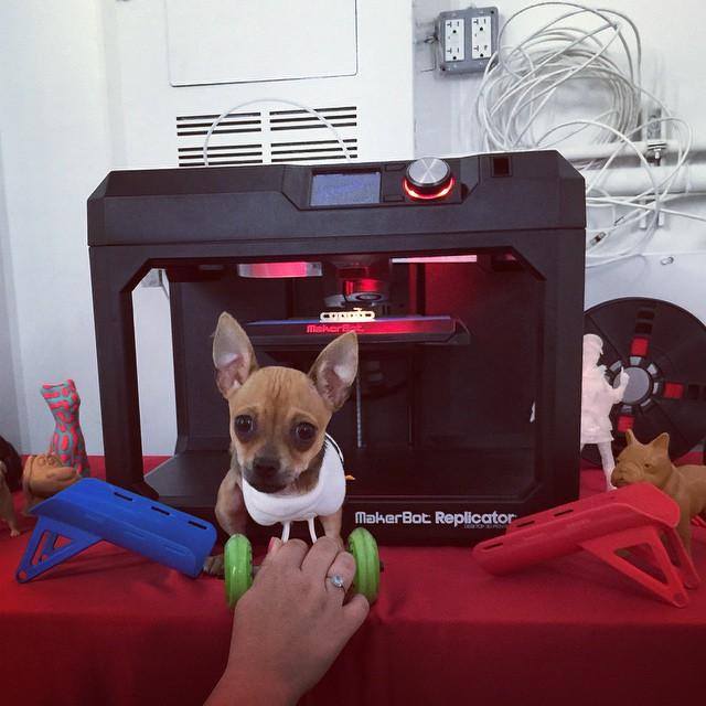 La stampante 3D con cui è stata realizzata la sedia a rotelle per TurboRoo