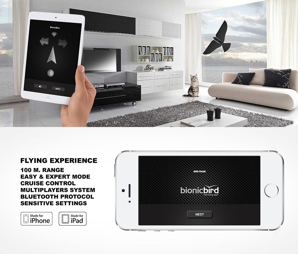 Si controlla tramite un'app che al momento è disponibile solo per alcuni device iOS ma nel 2015 sarà disponibile anche per android