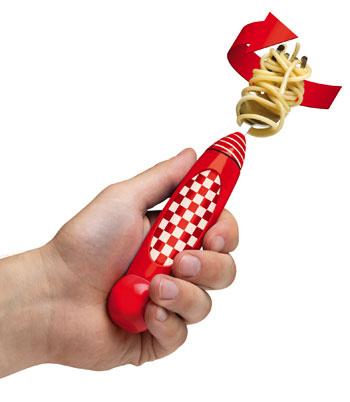 Forchetta automatica per spaghetti