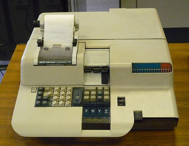 La Pogramma 101, un altro computer storico