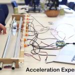 Un esperimento di accelerazione