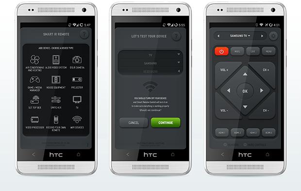 AnyMote Smart IR Remote, l'app che controlla il AnyMote Home