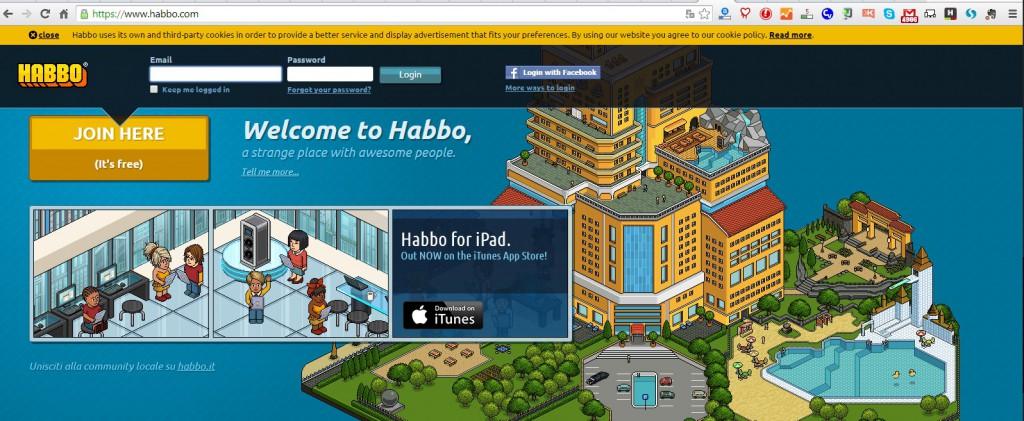 Habbo, uno dei 5 social dimenticati