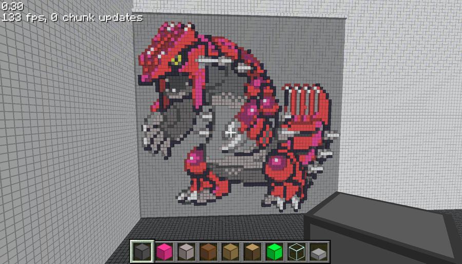 Un esempio di pixel art