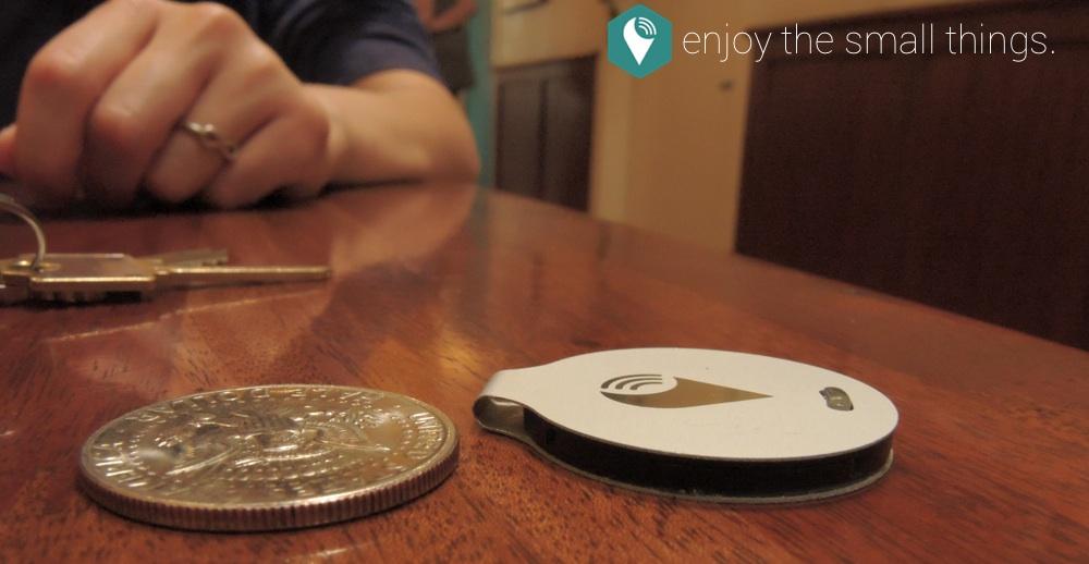 TrackR è piccolo come una moneta ed elegante