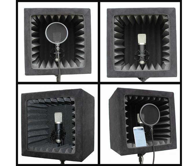 SnapRecorder compatibile con microfoni tradizionali