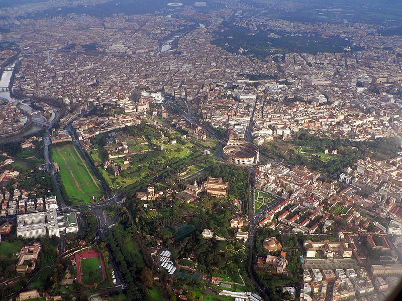 Roma dall'alto - Wikipedia