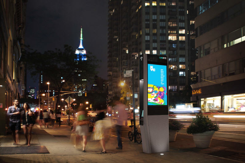 Link NYC a Manhattan