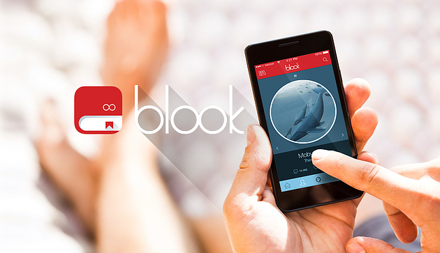 Blook_launch
