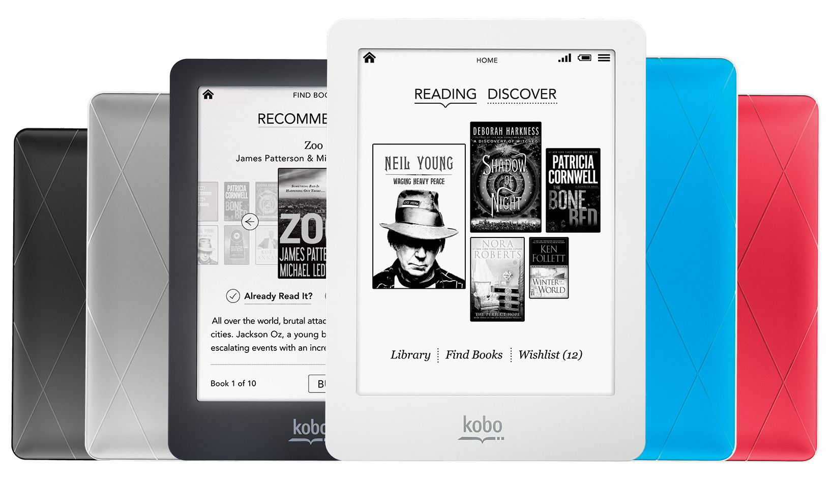 how to delete books from kobo ereader touch