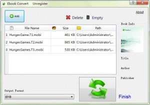 convertire un file AZW in PDF