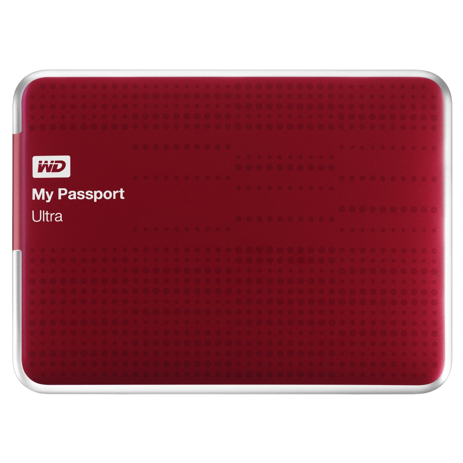 Hard disk WD My Passport Ultra rosso