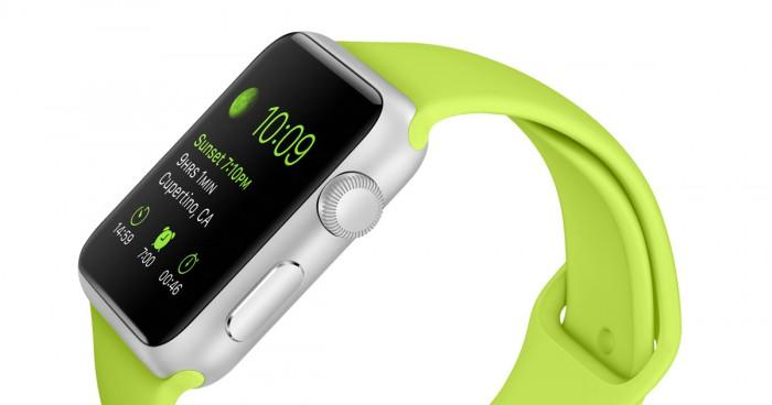 Apple Watch cinturino verde