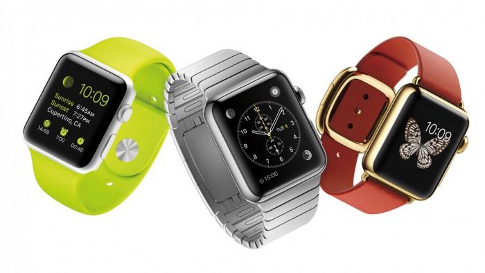 Apple Watch tre modelli