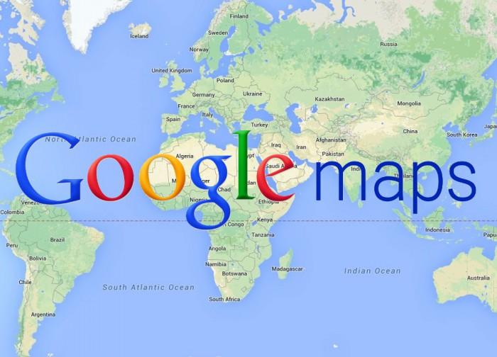Google Maps mappa del mondo