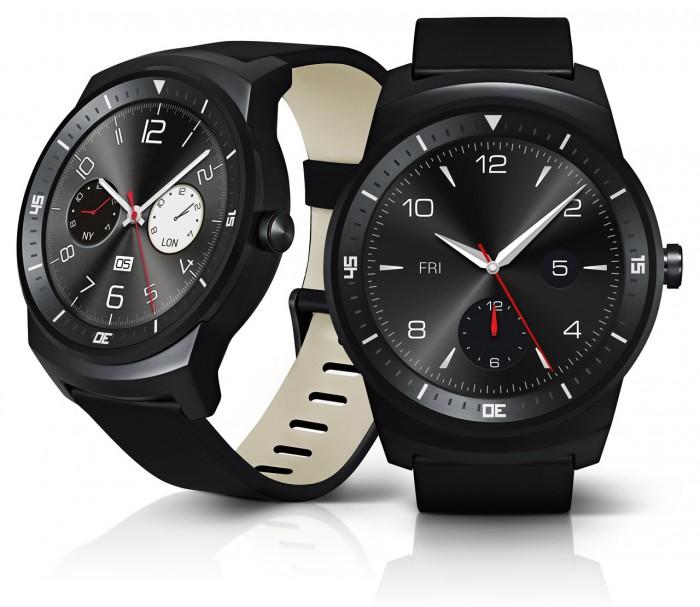 LG G Watch R vista frontale