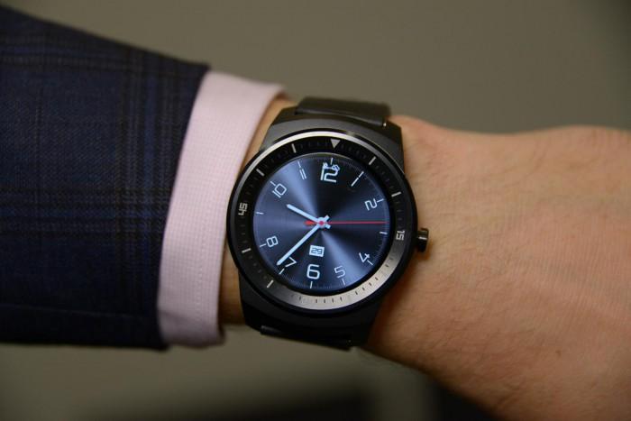 LG G Watch R al polso