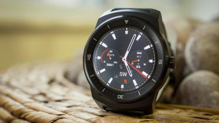 LG G Watch R quadrante
