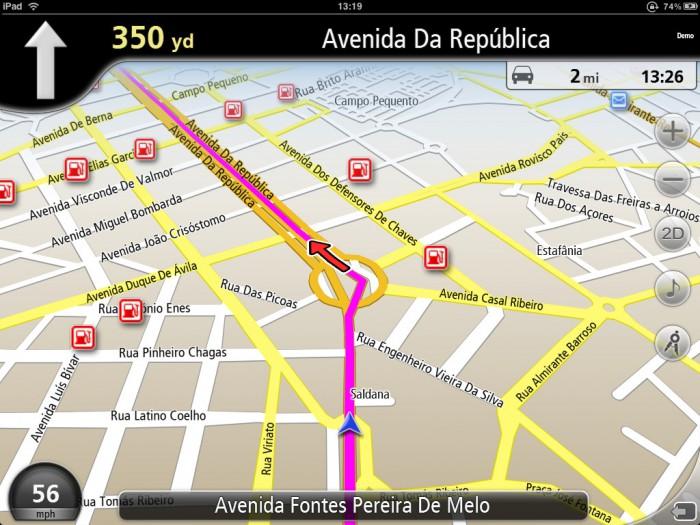 NavFree mappa