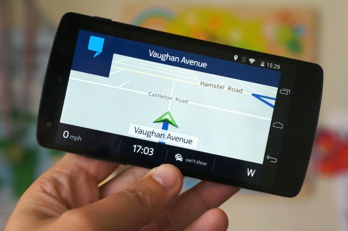 Nokia Here in navigazione