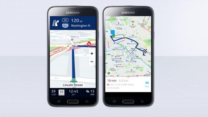 Nokia Here su smartphone