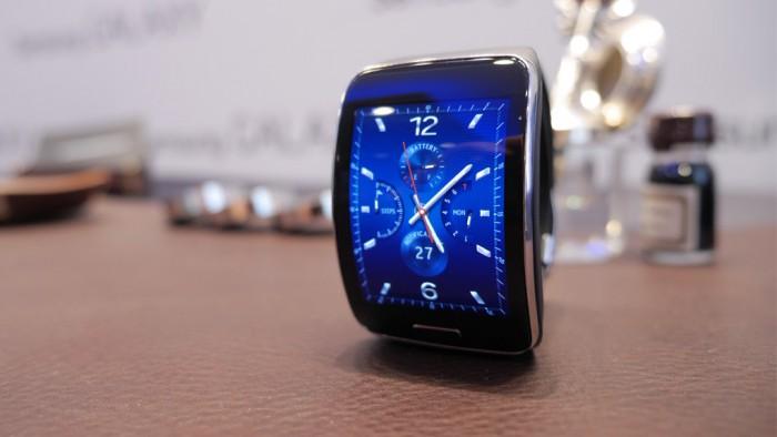 Samsung Gear S quadrante blu