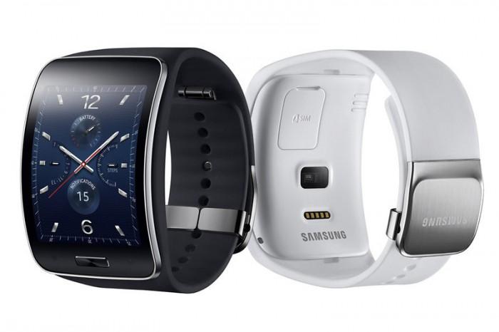 Samsung Gear S nero e retro white