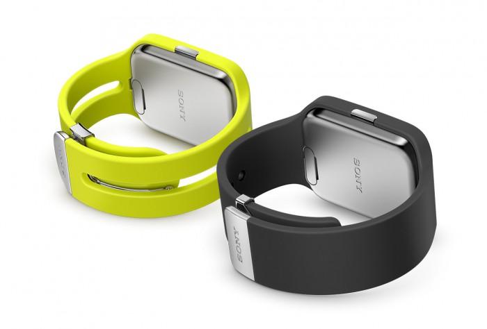 Sony Smartwatch 3 vista del retro