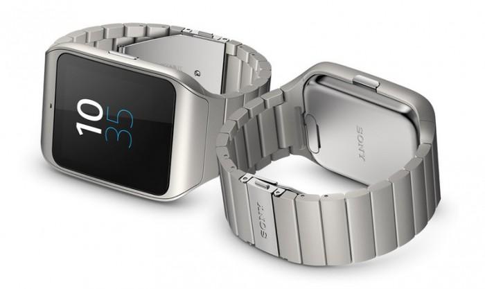Sony Smartwatch 3 cinturino acciaio