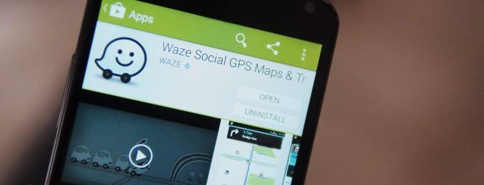 Waze schermata download