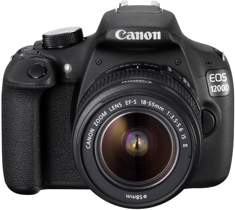 Canon EOS 1200D vista frontale