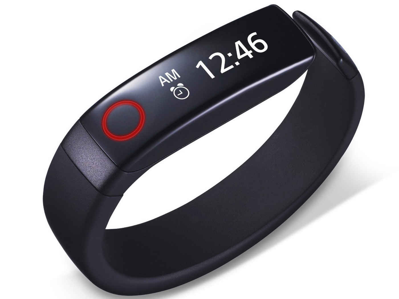 LG Life Band Touch display con ora