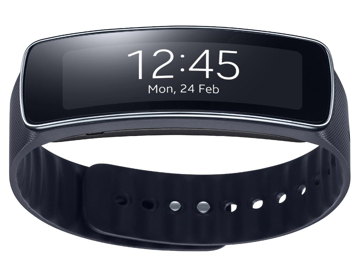 Samsung Gear Fit display ora
