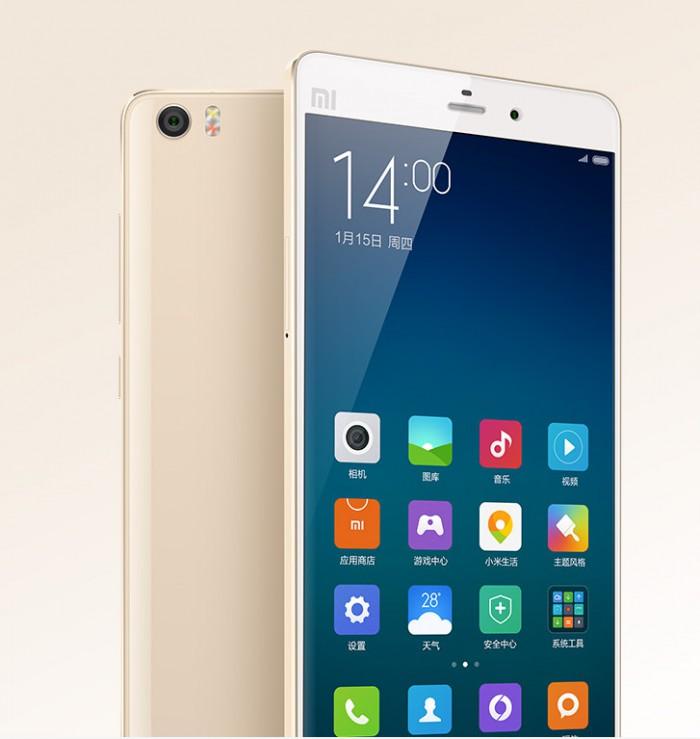 Xiaomi Mi Note display e fotocamera