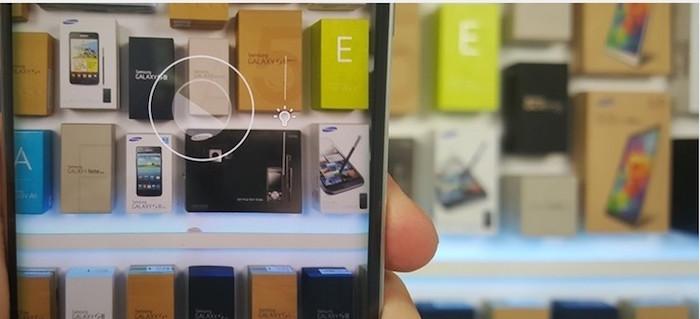 Galaxy S6 fotocamera