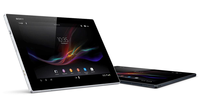 Sony Xperia Z2 Tablet display